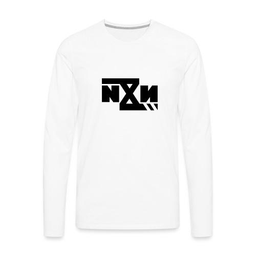 N8N Bolt - Mannen Premium shirt met lange mouwen