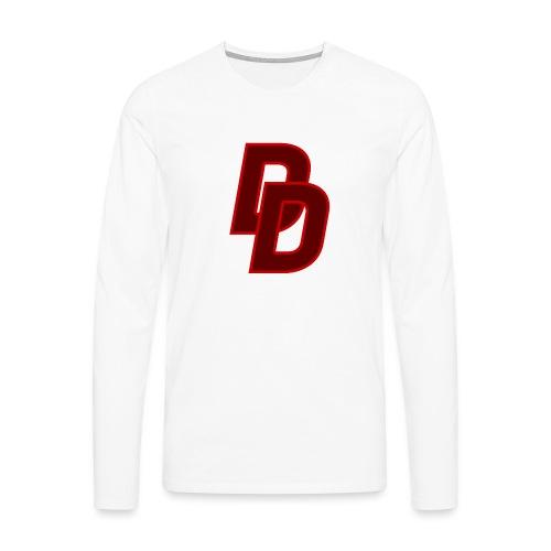 Daredevil Logo - Men's Premium Longsleeve Shirt