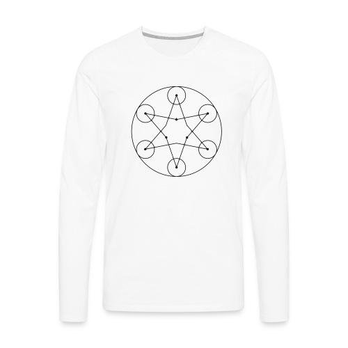 Stern - Männer Premium Langarmshirt