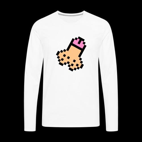 mon bite - T-shirt manches longues Premium Homme