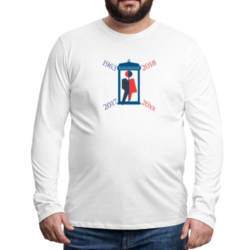 Mr or Ms Who - Men's Premium Longsleeve Shirt