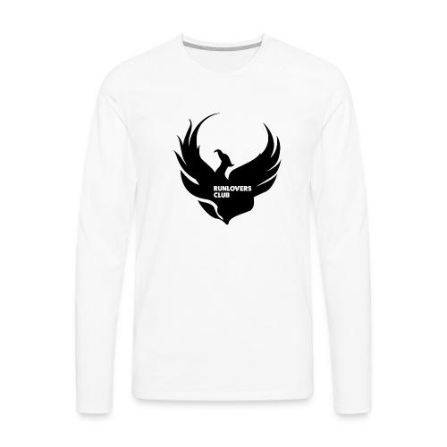 Runlovers Club v2 - Maglietta Premium a manica lunga da uomo