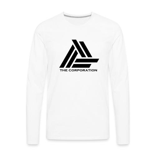 zwart metnaam keertwee png - Men's Premium Longsleeve Shirt