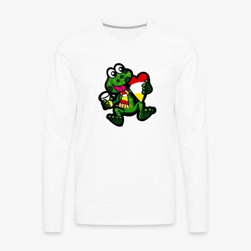 Oeteldonk Kikker - Mannen Premium shirt met lange mouwen