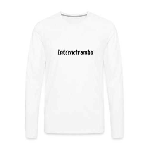 Internetrambo - Männer Premium Langarmshirt