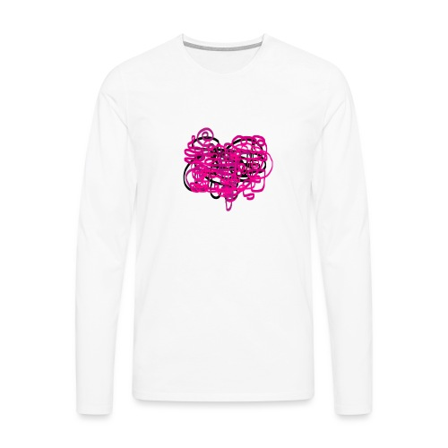 delicious pink - Men's Premium Longsleeve Shirt