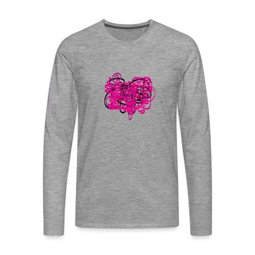 delicious pink - Men's Premium Longsleeve Shirt
