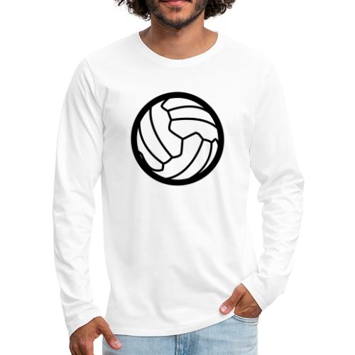 I <3 football! - T-shirt manches longues Premium Homme