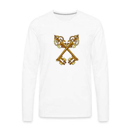 Sweat Simple avec logo au centre - T-shirt manches longues Premium Homme