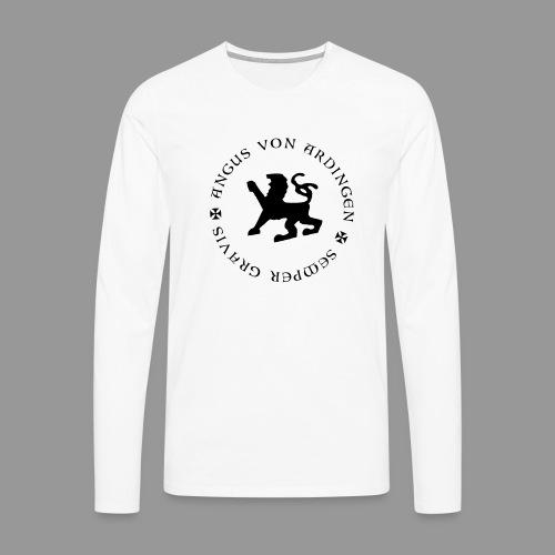 angus von ardingen semper gravis - Männer Premium Langarmshirt