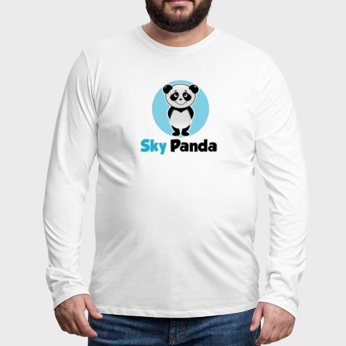 Panda Cutie - Männer Premium Langarmshirt
