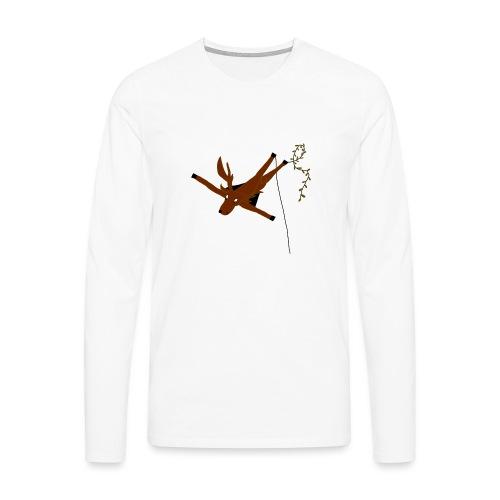 Cerf-Volant - T-shirt manches longues Premium Homme