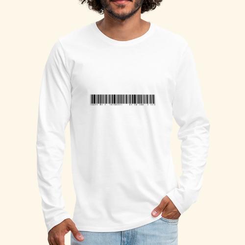 110% überdurchschnittlich gut aussehend - Männer Premium Langarmshirt