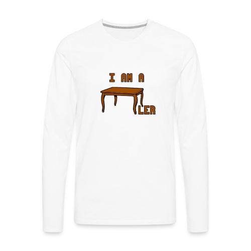 i am a Tischler - Männer Premium Langarmshirt