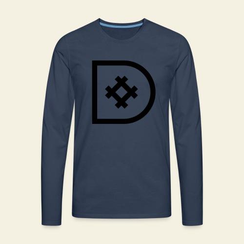 Icona de #ildazioètratto - Maglietta Premium a manica lunga da uomo
