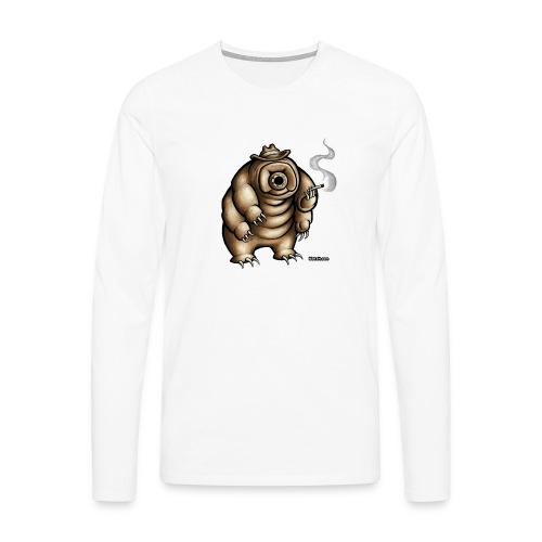 Smokey the Water Bear - Men's Premium Longsleeve Shirt
