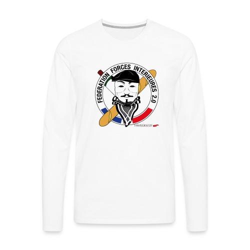 FFi Anonymous - T-shirt manches longues Premium Homme