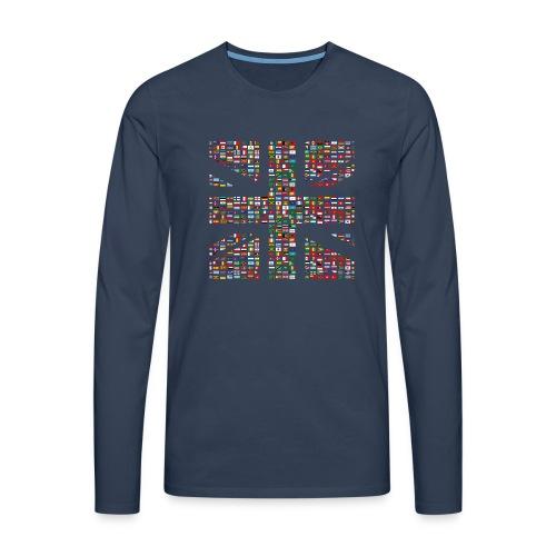 The Union Hack - Men's Premium Longsleeve Shirt