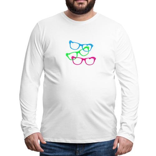 lunettes - T-shirt manches longues Premium Homme