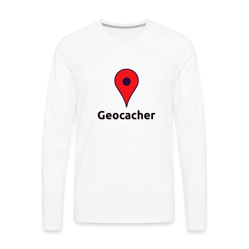 Geocacher - Männer Premium Langarmshirt