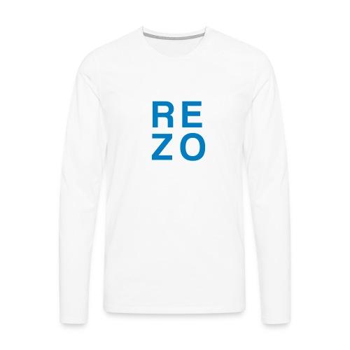 Rezo for president - Männer Premium Langarmshirt