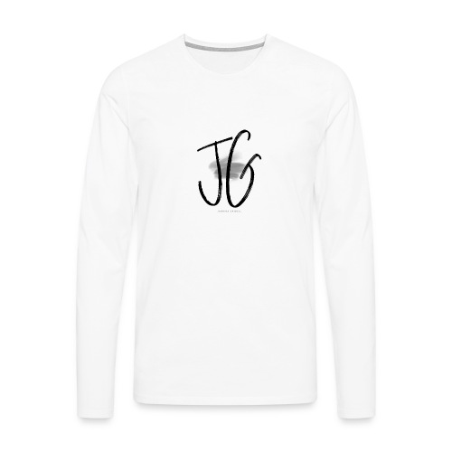 JG - JANNINA GAIDELL BRAND LOGO SHIRT - Männer Premium Langarmshirt