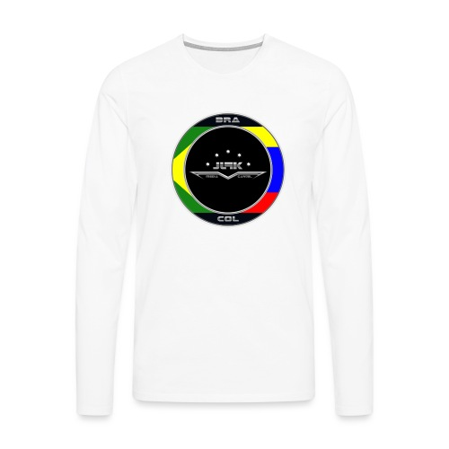 Brasilien - Männer Premium Langarmshirt