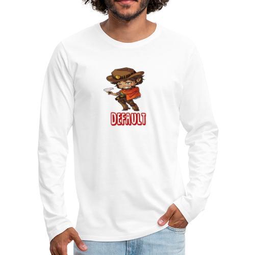 DeF Clan logo - Premium langermet T-skjorte for menn