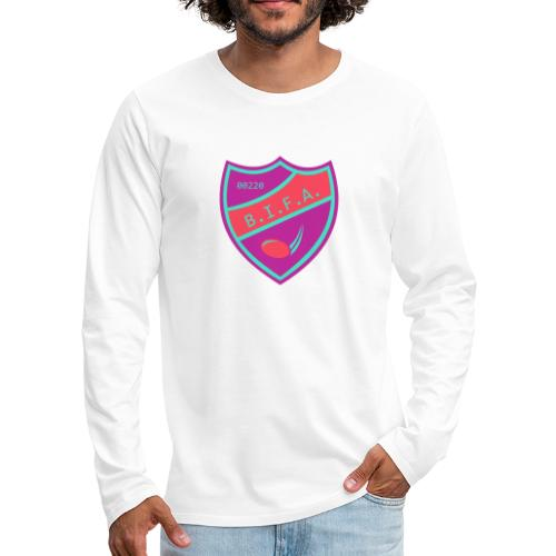 Bro Island Forecheck Association - Miesten premium pitkähihainen t-paita