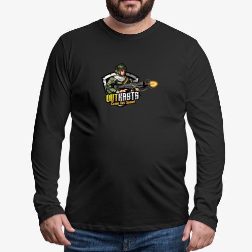 OutKasts [OKT] Logo 2 - Men's Premium Longsleeve Shirt