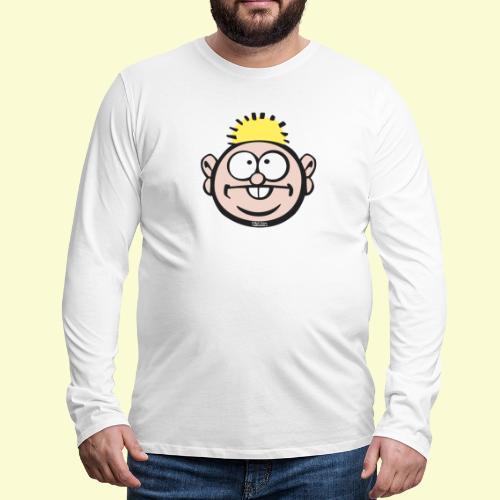 DIRKJAN - Mannen Premium shirt met lange mouwen