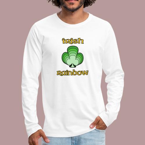 Irish rainbow - T-shirt manches longues Premium Homme