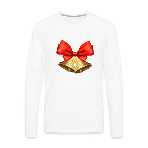 Pngtree christmas bell 3715872 - Camiseta de manga larga premium hombre