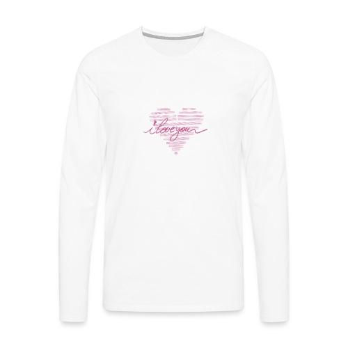 In kalk letters - T-shirt manches longues Premium Homme