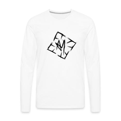 Across Yourself - Logo black transparent - Men's Premium Longsleeve Shirt