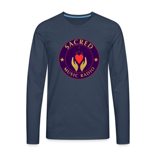 Spread Peace Through Music - Men's Premium Longsleeve Shirt