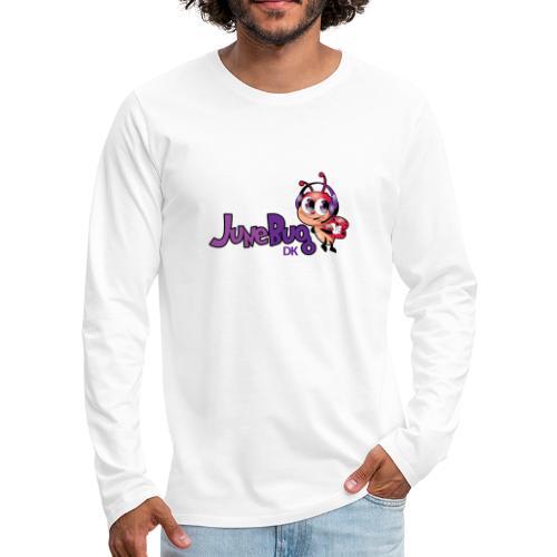 JuneBugDK - Herre premium T-shirt med lange ærmer