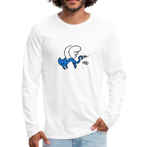 Chaton Volant - T-shirt manches longues Premium Homme