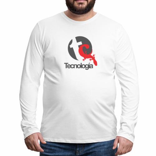 Tecnologia - Männer Premium Langarmshirt