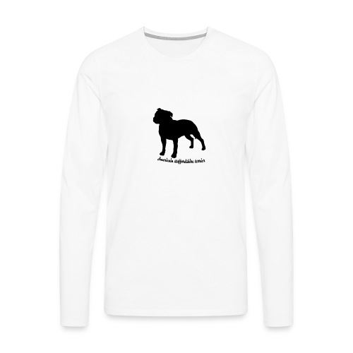 american staffordshire terrier - T-shirt manches longues Premium Homme