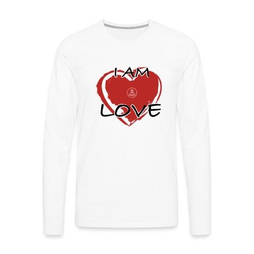 IM LOVE MaitriYoga - T-shirt manches longues Premium Homme