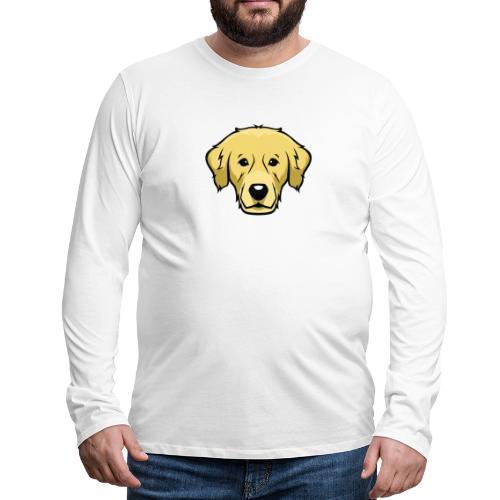 Perro - Camiseta de manga larga premium hombre