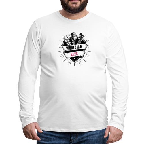 WorldJam Keys - Men's Premium Longsleeve Shirt