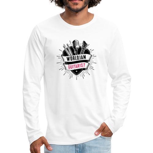 WorldJam Guitarist - Men's Premium Longsleeve Shirt