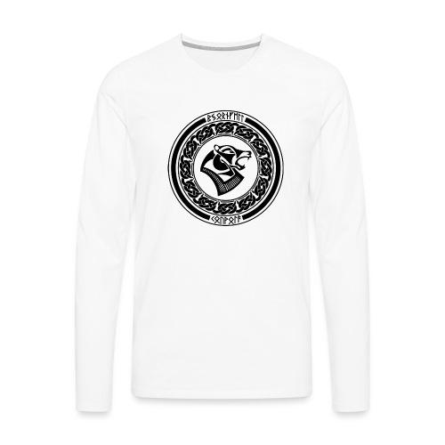 BjornfellRisingBlack - Miesten premium pitkähihainen t-paita