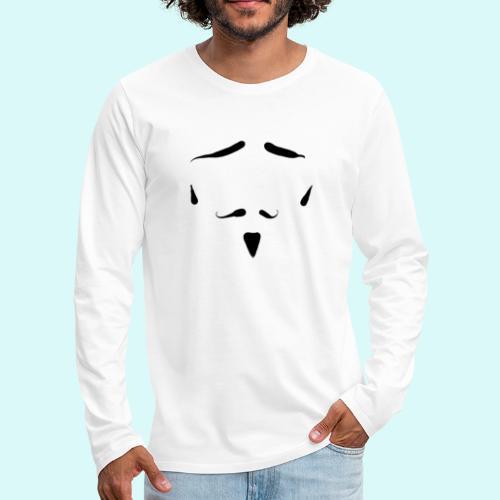 moustache - T-shirt manches longues Premium Homme