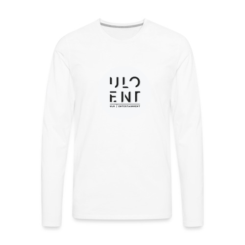 Ulo Entertainment - Miesten premium pitkähihainen t-paita