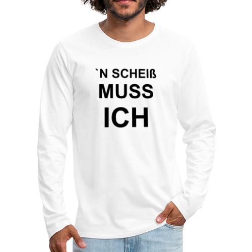 1001 sw - Männer Premium Langarmshirt
