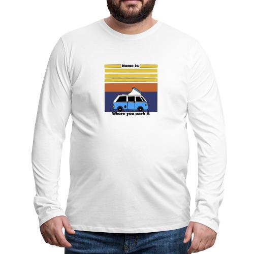 Van Life - Maglietta Premium a manica lunga da uomo