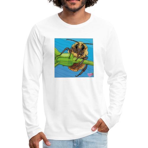 Bi - Herre premium T-shirt med lange ærmer